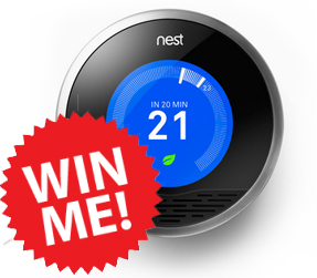 Win a nest thermostat